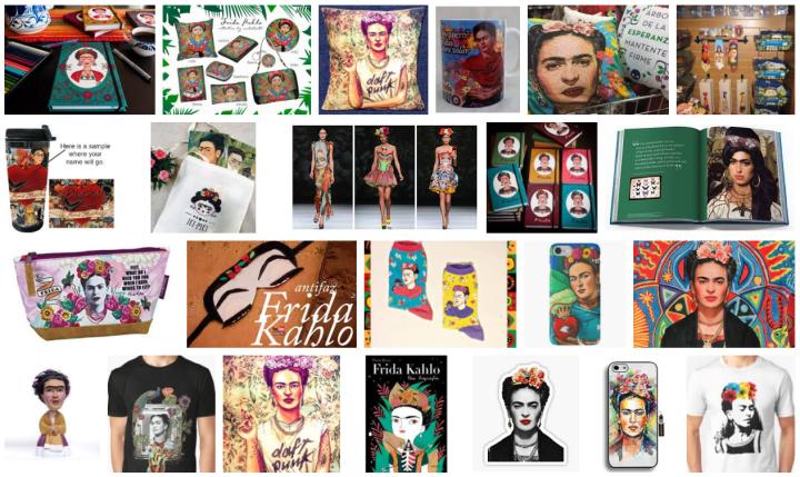 Merchandising Frida Kahlo
